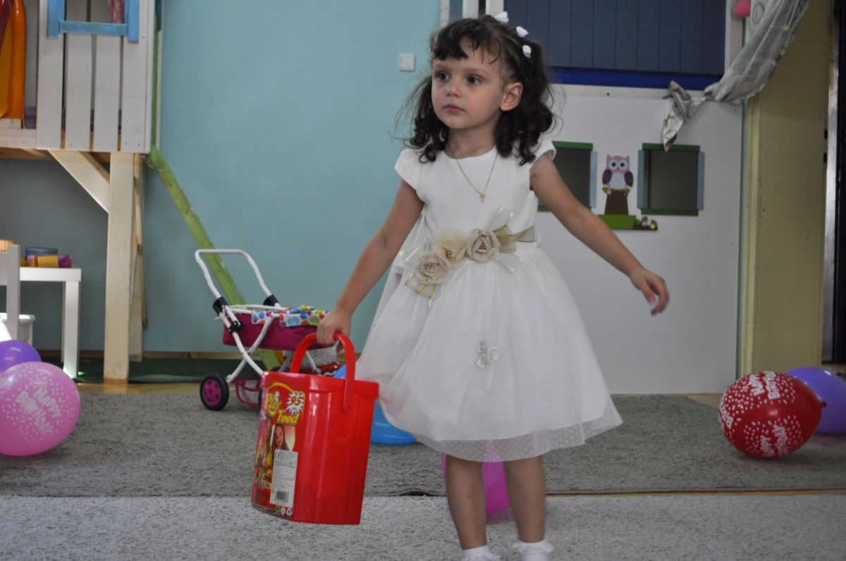 заснемане на детски рожден ден