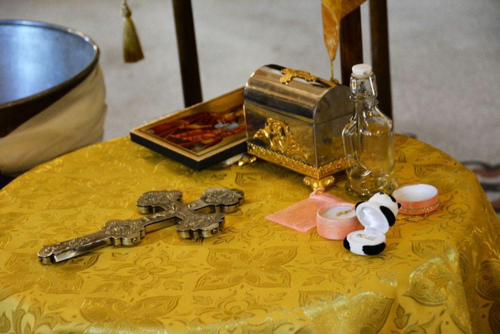 ритуал тайнство кръщение